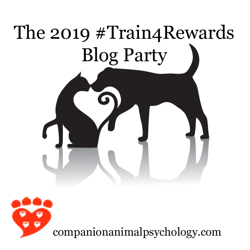Train For Rewards Blog Party Logo